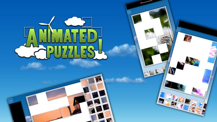Animated Puzzles screen shot 0