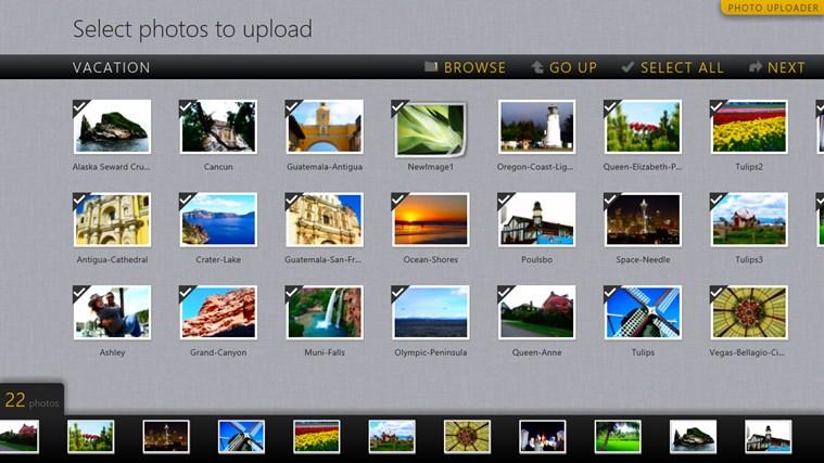 Photo Uploader for Facebook screen shot 0
