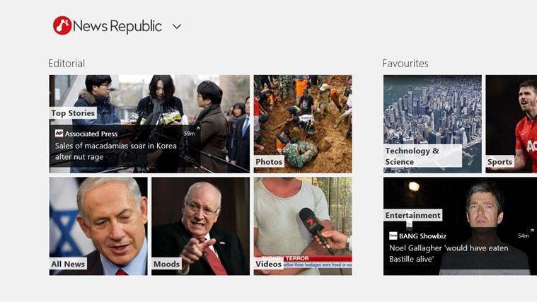 News Republic skjermbilde 0