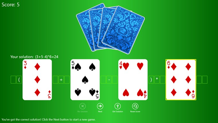 24 Poker Game screen shot 0