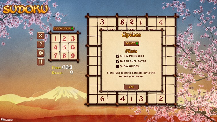 Sudoku For Free screen shot 2