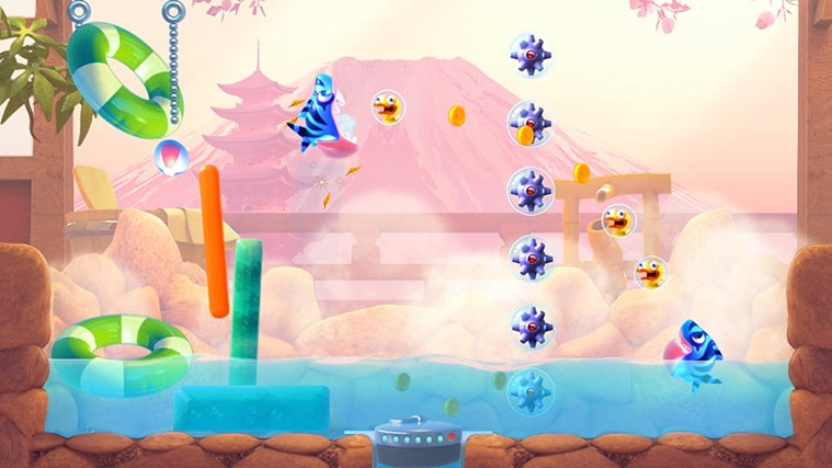 Shark Dash! By Gameloft screen shot 4