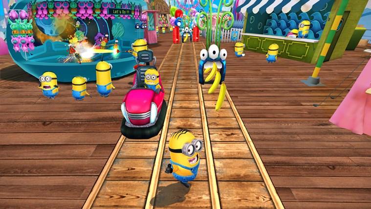 Despicable Me: Minion Rush screen shot 0
