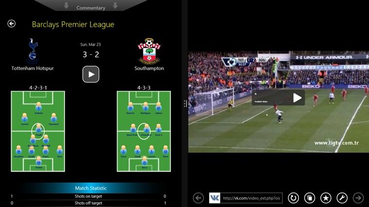 Football World posnetek zaslona 4
