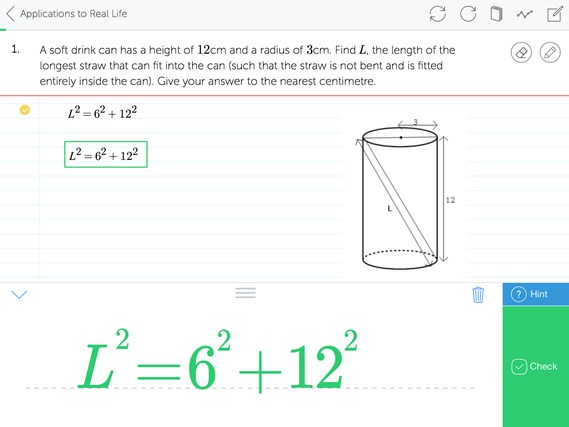 Mathspace screen shot 4