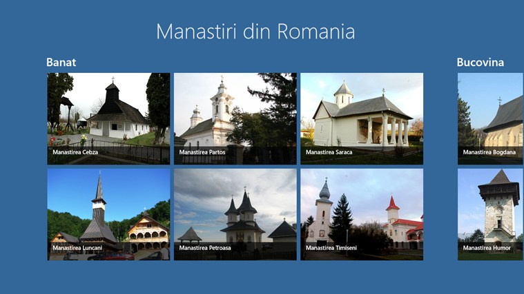 Manastiri din Romania screen shot 0