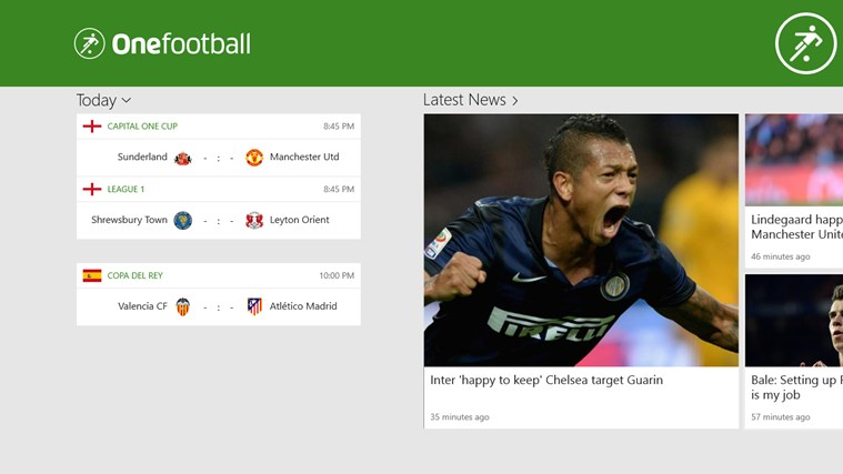 Onefootball screen shot 0