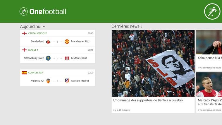 Onefootball capture d'écran 0