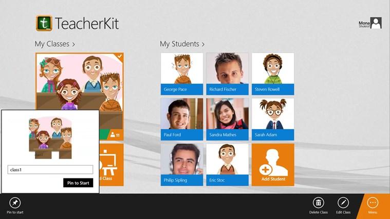 TeacherKit screen shot 2