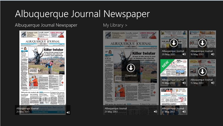 ABQ Journal screen shot 0