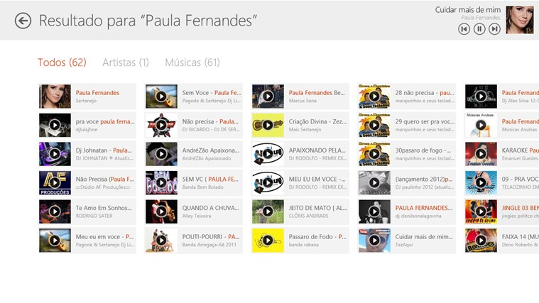 Palco MP3 screen shot 6