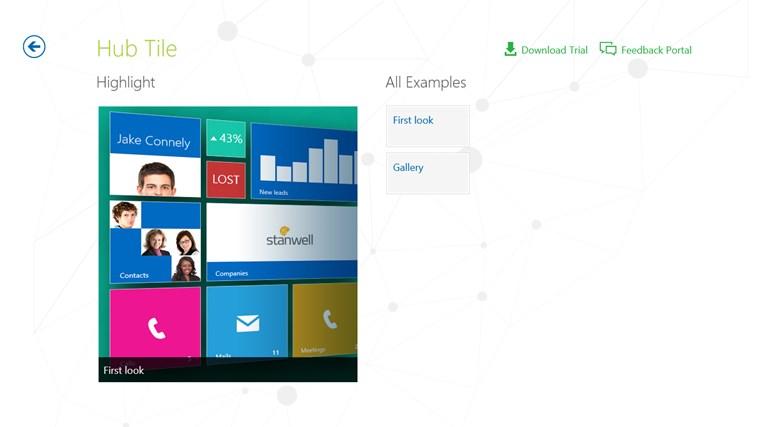 Telerik Controls Examples (XAML) screen shot 6