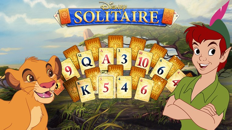 Disney Solitaire screen shot 0