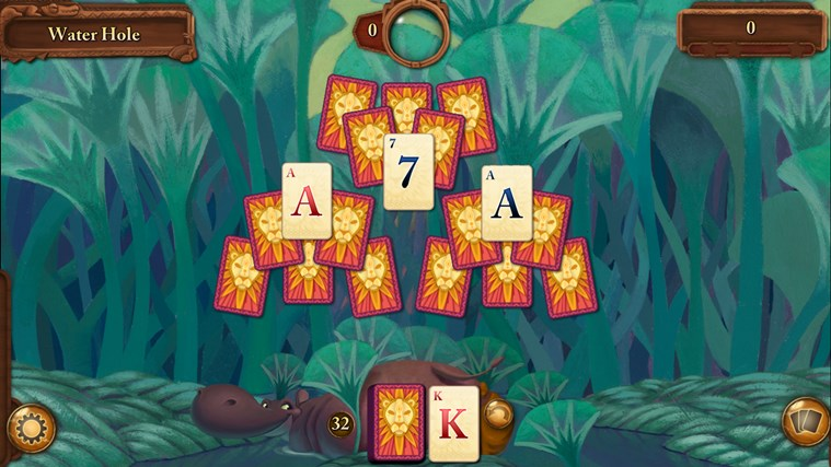 Disney Solitaire screen shot 2