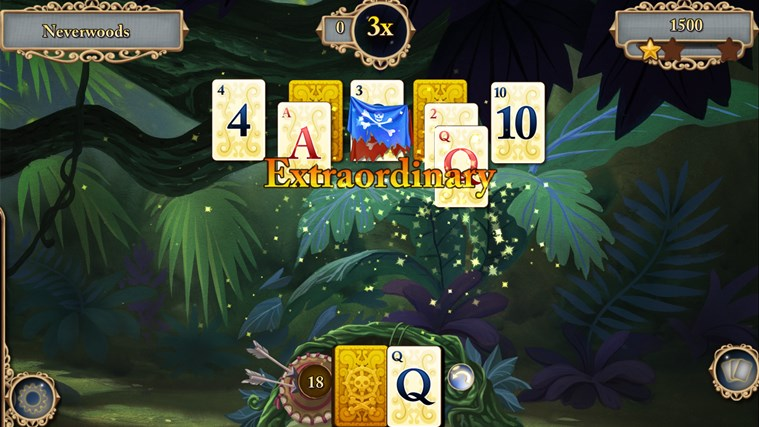 Disney Solitaire screen shot 4