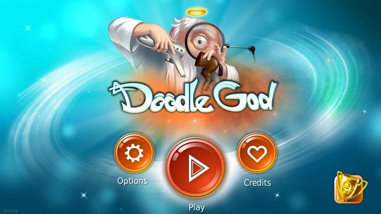 Doodle God for Samsung petikan skrin 0