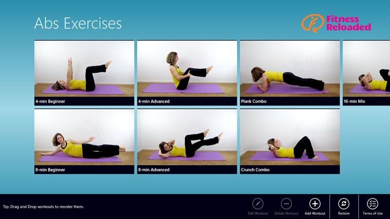 Abs Exercises  full