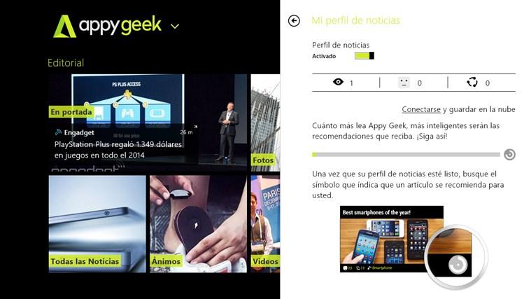 Appy Geek captura de pantalla 4