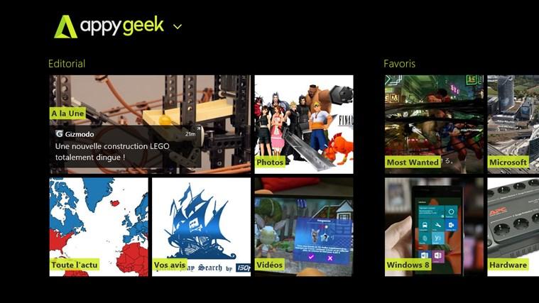 Appy Geek capture d'écran 0