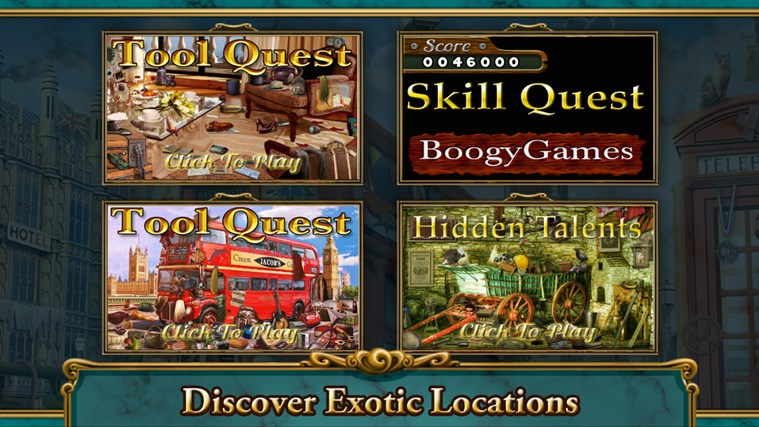 Hidden Objects- Travel- Farm- Detective 3 in 1 Pack screen shot 2