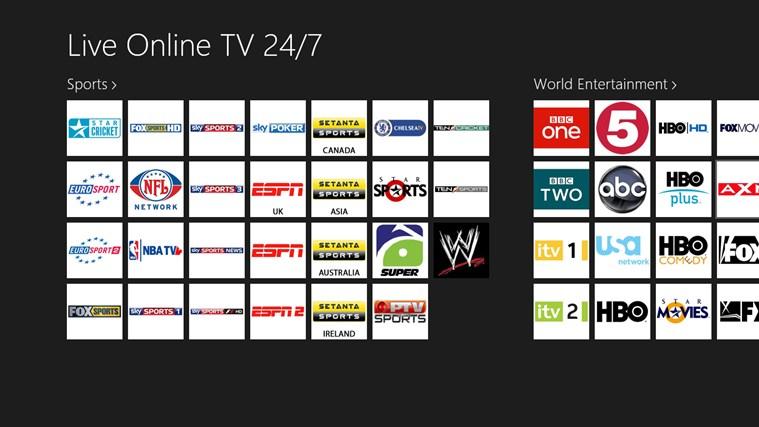 Free Tv Channels Windows