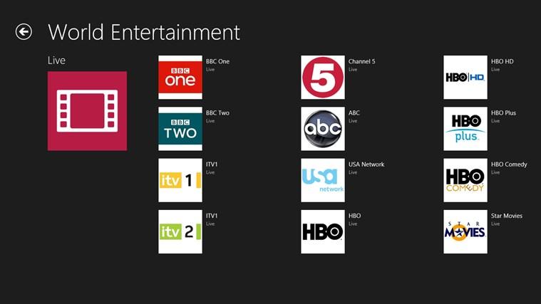 live online tv 24  7 for windows 10 free download on 10 app