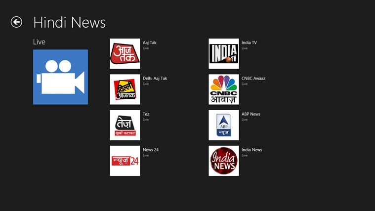 Live Online TV 24\/7 for Windows 10 free download on Windows 10 App Store