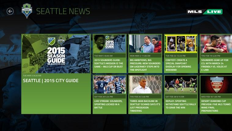 MLS MatchDay screen shot 4