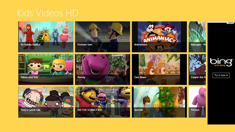 Kids Videos HD screen shot 0