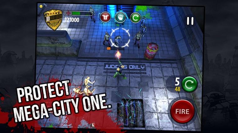 Judge Dredd vs. Zombies screen shot 2
