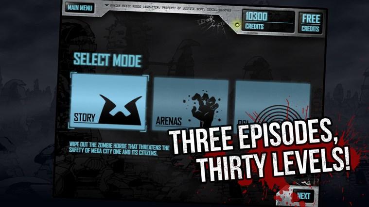 Judge Dredd vs. Zombies screen shot 4