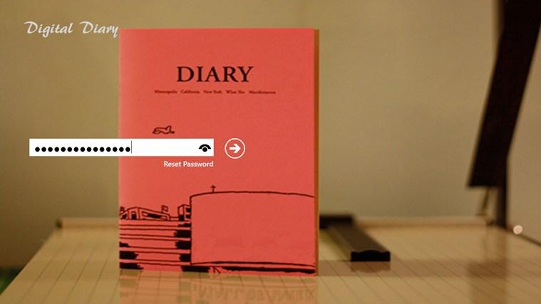 Digital Diary screen shot 0