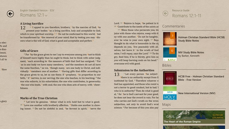 Bible+ screen shot 6