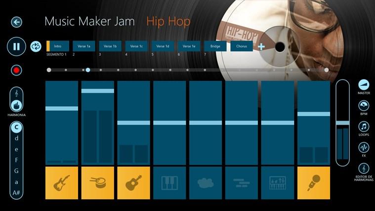 Music Maker Jam captura de tela 2