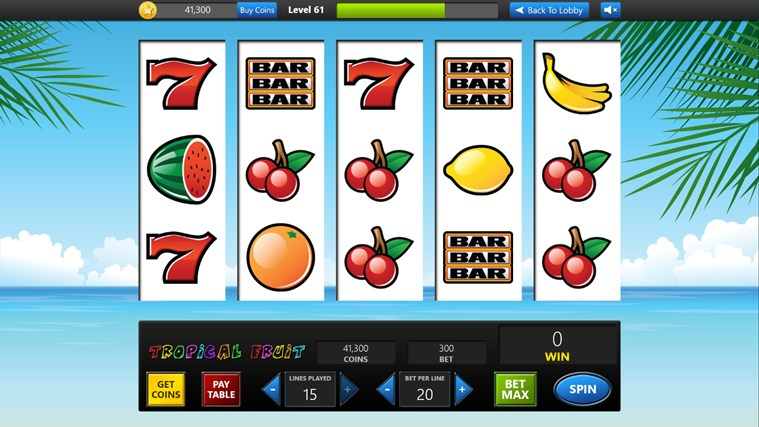 slot apps for windows phone
