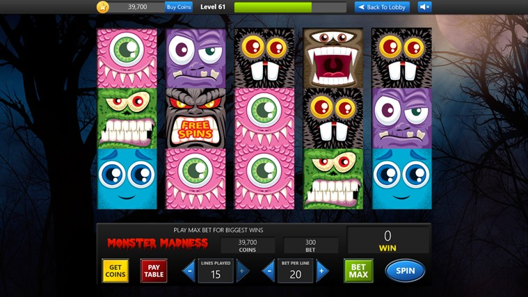 Slot Machine screen shot 2