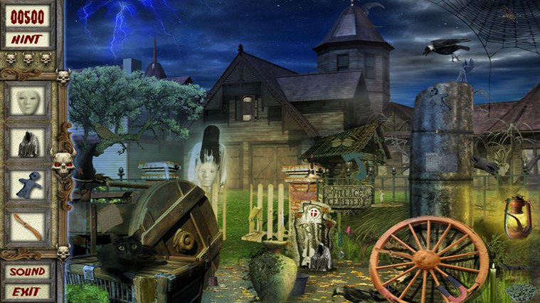 Haunted Village - Hidden Object captura de ecrã 2