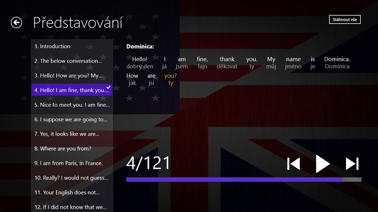 Angličtina Premium snímek obrazovky 2