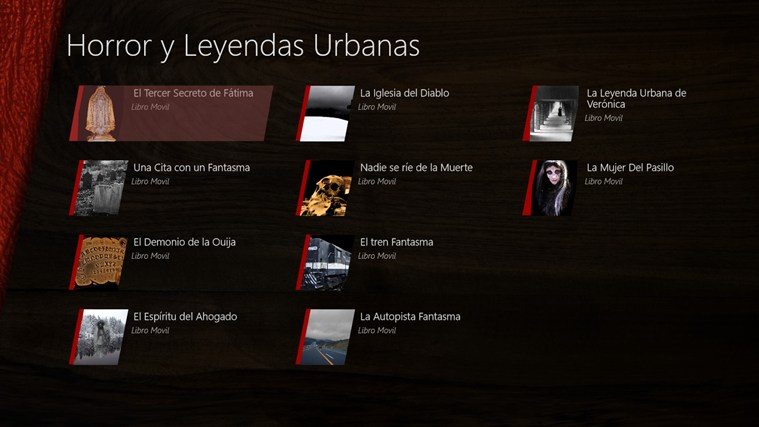 Horror y Leyendas Urbanas screen shot 0