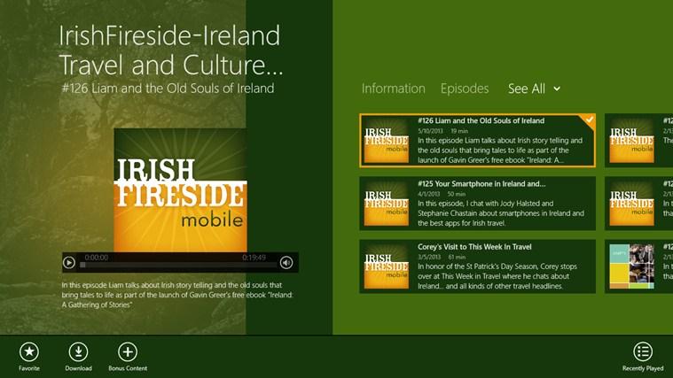 IrishFireside-Ireland Travel and Culture App gabháil scáileáin 0