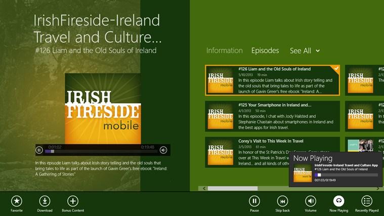IrishFireside-Ireland Travel and Culture App gabháil scáileáin 2