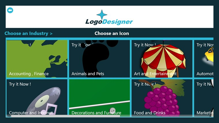 Logo Designer screen shot 2