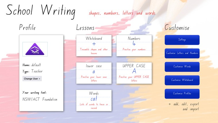 School Writing - AU/NZ screen shot 6
