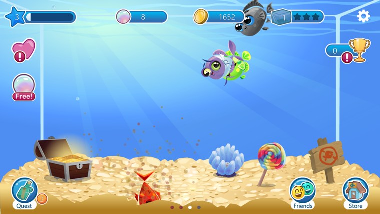 Fish with Attitude screen shot 2