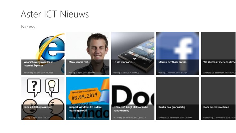 Aster ICT Nieuws screen shot 0