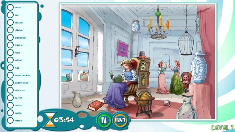 Beauty and the Beast - Hidden Object Game screen shot 2