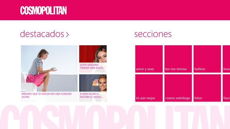 Cosmopolitan en Español captura de pantalla 0