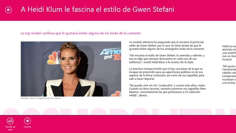 Cosmopolitan en Español captura de pantalla 2