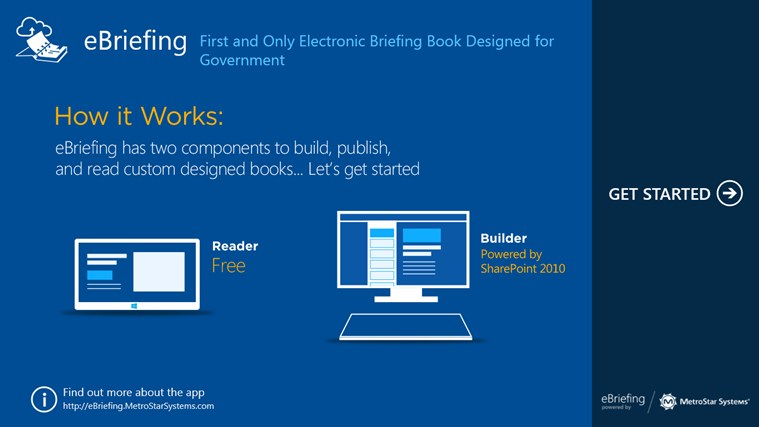 eBriefing screen shot 0