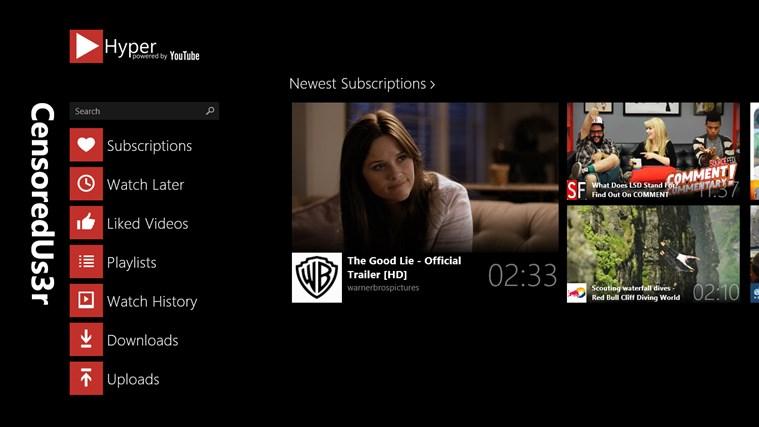 Hyper for YouTube screen shot 0